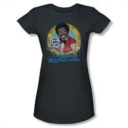 The Love Boat Shirt Juniors Booze Cruise Charcoal T-Shirt