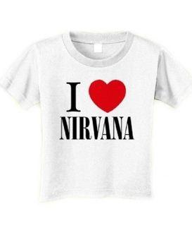 Nirvana I Love Nirvana Toddler T-Shirt