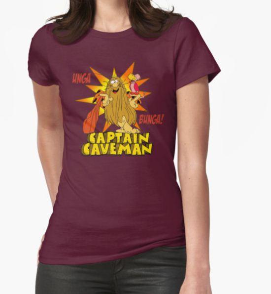 Captain Caveman Unga Bunga T-Shirt by derelictdesigns T-Shirt