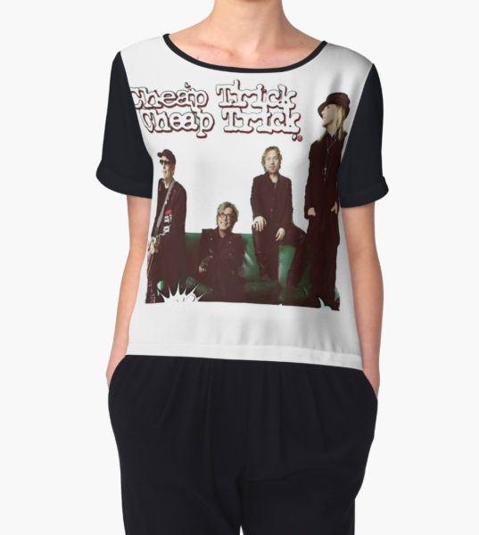 cheap trick Women's Chiffon Top by jambrul T-Shirt
