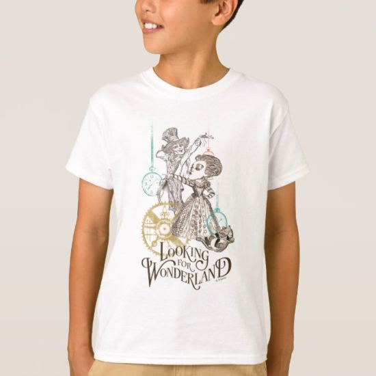 The Queen & Mad Hatter | Looking for Wonderland 2 T-Shirt