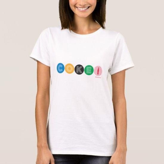 Coke Disc Logo T-Shirt