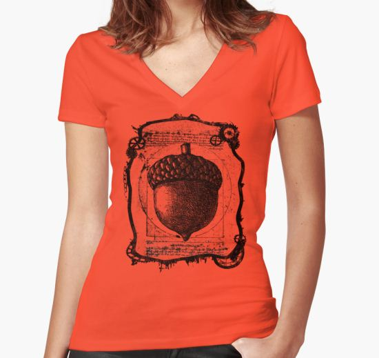 Peter Pan HCTO - TOODLES Women's Fitted V-Neck T-Shirt by TinMan25 T-Shirt