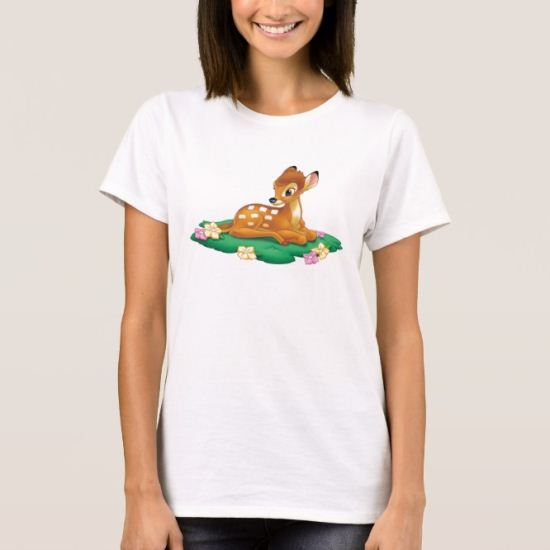 Bambi sitting on the grass T-Shirt