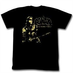 Conan Shirts The Man Adult Black Tee T-Shirt