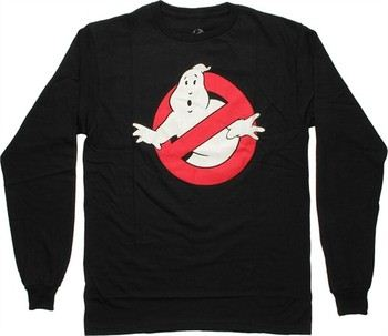 Ghostbusters Classic Logo Long Sleeve T-Shirt