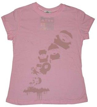 South Park Characters Pink Baby Tee