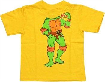 Teenage Mutant Ninja Turtles Michelangelo Body Costume Toddler T-Shirt