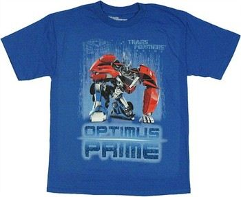 Transformers Prime Optimus Prime Kneel Youth T-Shirt