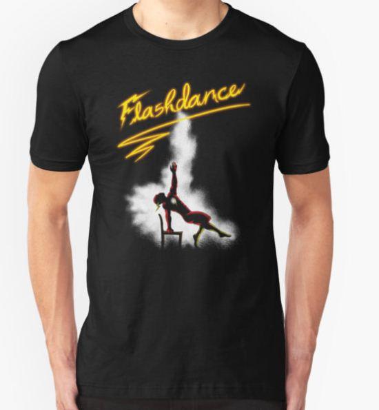 Flashdance T-Shirt by weisbatman T-Shirt