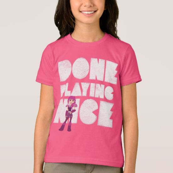 Done Playing Nice - Blue T-Shirt