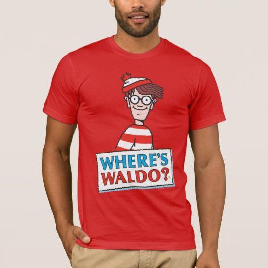 Where's Waldo Logo T-Shirt