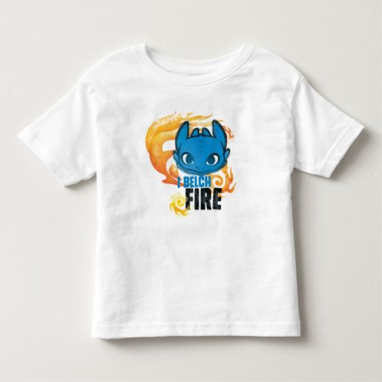 I Belch Fire Graphic Toddler T-shirt