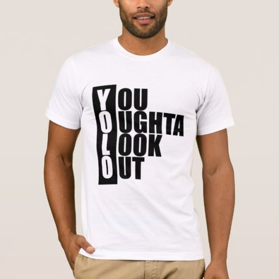 YOLO Vertical Box T-Shirt