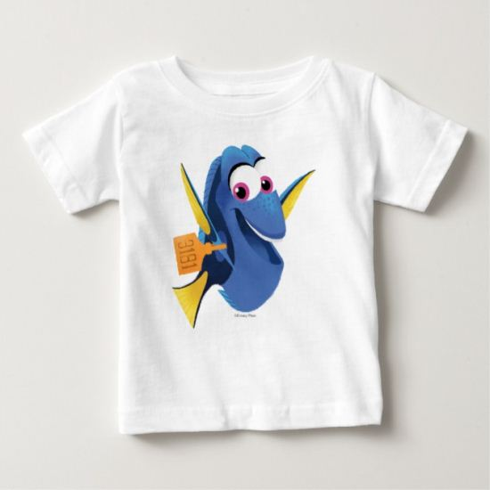 Dory   Finding Who Baby T-Shirt