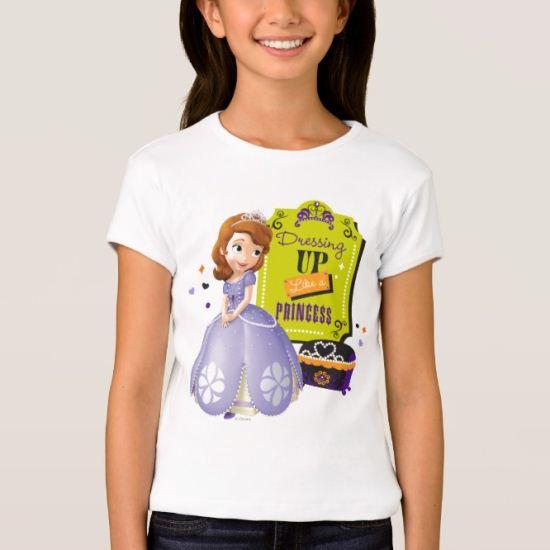 Dressign up Like a Princess T-Shirt