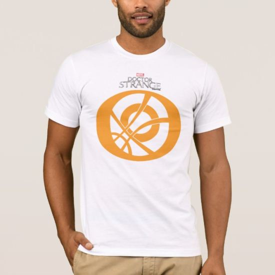 Doctor Strange Eye of Agamotto Pattern T-Shirt