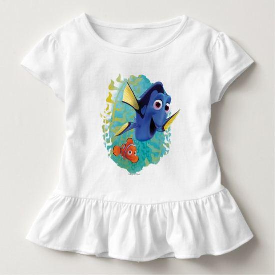 Dory & Nemo   Swim With Friends Toddler T-shirt