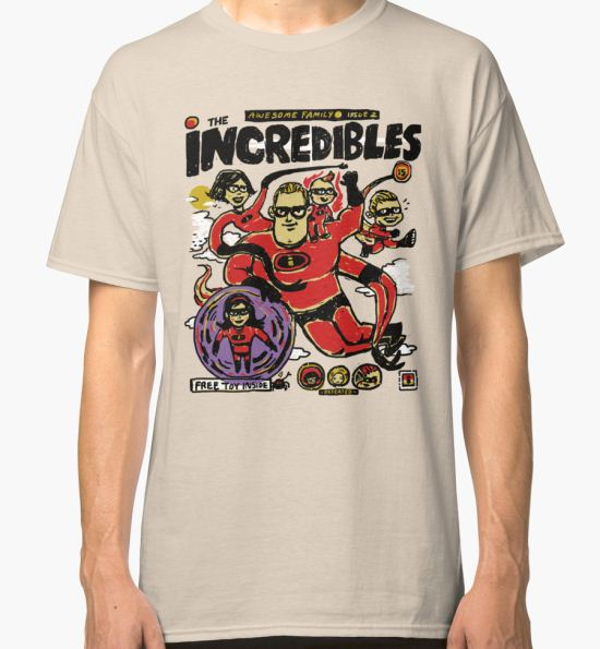 An Incredible Family Classic T-Shirt by Thomas Orrow T-Shirt