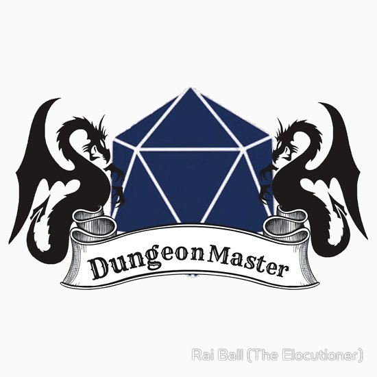 Dungeon Master Dungeons and Dragons by Rai Ball (The Elocutioner) T-Shirt