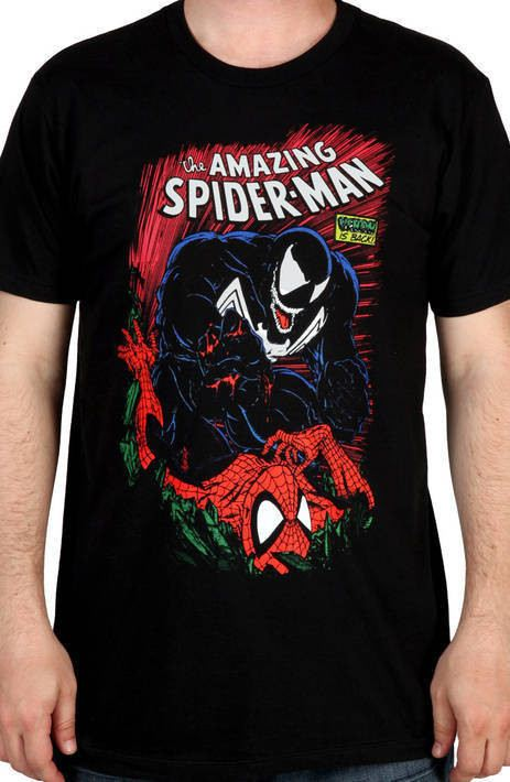5e64f8104b2 23 Spiderman and Venom Shirt Spiderman and Venom Shirt