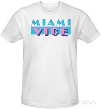 Miami Vice - Logo (slim fit)