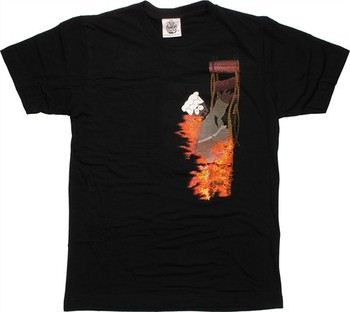 South Park Final Rest in Peace Chef T-Shirt Sheer