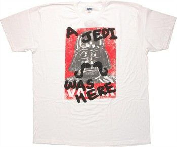 Star Wars A Jedi Was Here T-Shirt Sheer