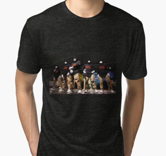 jabbawockeez tour date time 2016 th4 Tri-blend T-Shirt by taufikhidayah T-Shirt