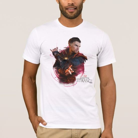 Doctor Strange Mystic Lines Character Bust T-Shirt
