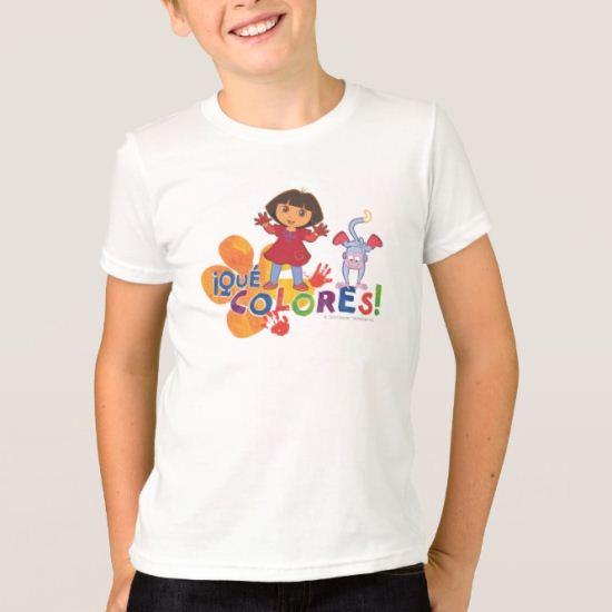 Dora The Explorer | Que Colores! T-Shirt