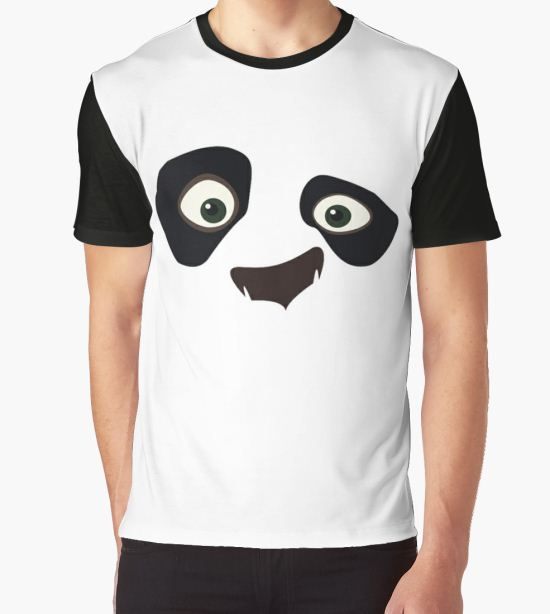 Kung Fu Panda Graphic T-Shirt by mohammedsafari T-Shirt
