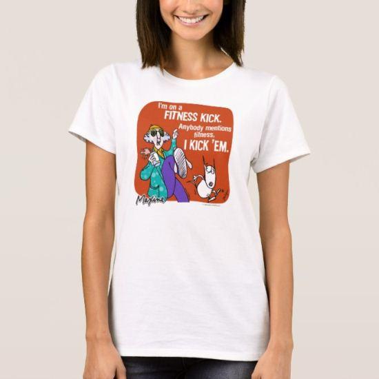 Maxine Fitness T-Shirt