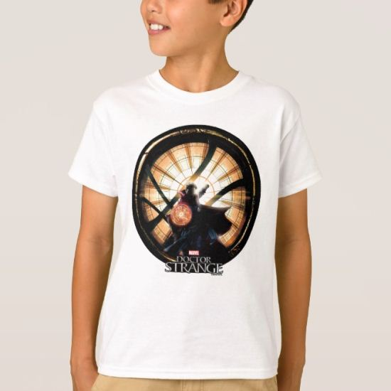 Doctor Strange In Front of Window of Worlds T-Shirt