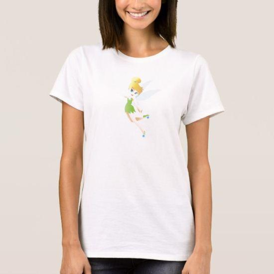 Cute Tinker Bell Flying Disney T-Shirt