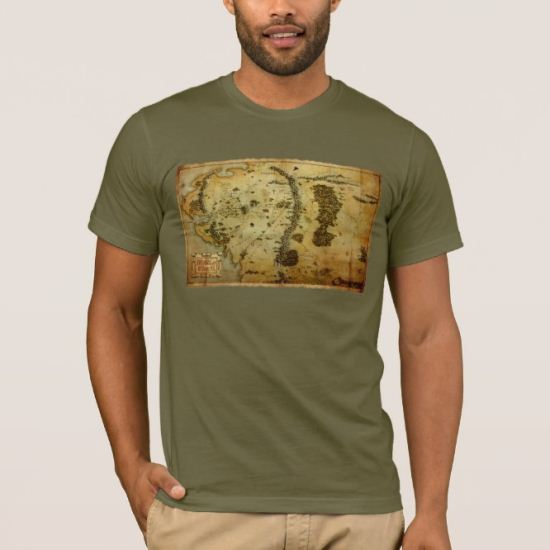 MIDDLE EARTH™ Map #3 T-Shirt