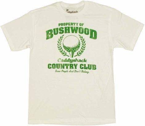Caddyshack Club T Shirt Sheer