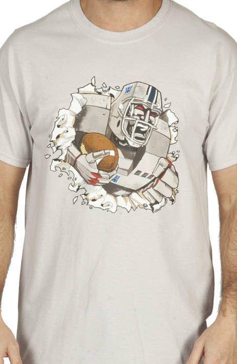 Megatron Football Shirt