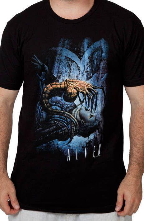 Face Hugger Alien Shirt