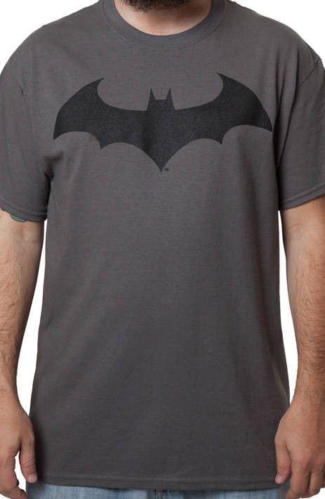Charcoal Batman Hush Logo Shirt