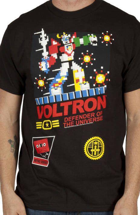 NES Parody Voltron Shirt