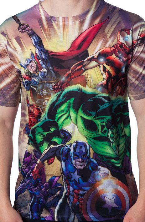 Avengers Sublimation Shirt