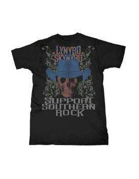 7e7453ac ... Lynyrd Skynyrd Support Southern Rock Men's T-Shirt