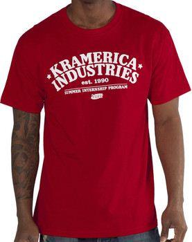 Red Kramerica Seinfeld T-Shirt