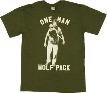 Hangover Alan Baby Carrier One Man Wolf Pack T-Shirt