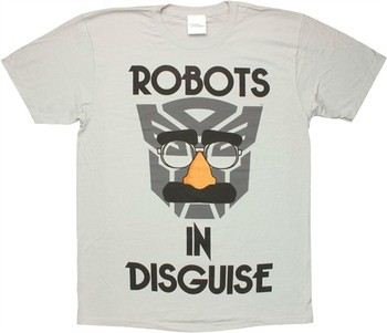 Transformers Autobot Robots In Disguise T-Shirt Sheer