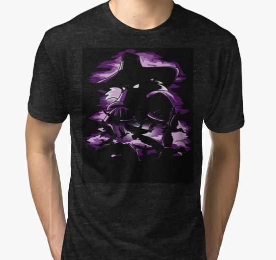 'DARKWING DUCK' Tri-blend T-Shirt by wewewawi T-Shirt