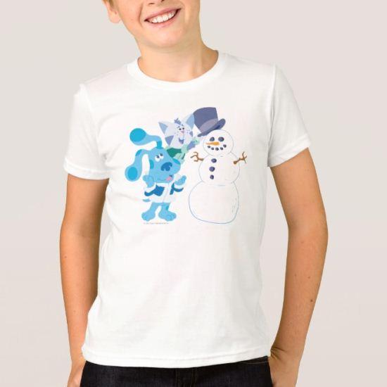 Blue's Clue - A Frosty Play Date! T-Shirt