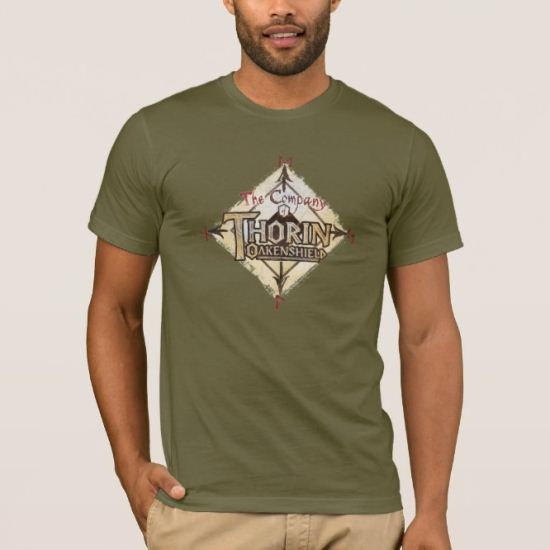 THORIN OAKENSHIELD™ Name Brown T-Shirt