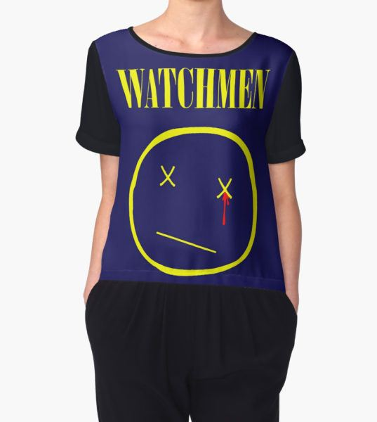 watchmen Women's Chiffon Top by sashakeen T-Shirt